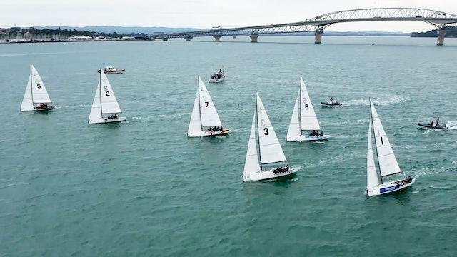Emirates Team NZL - Top NZL Sailors Fleet Racing But Who Wins