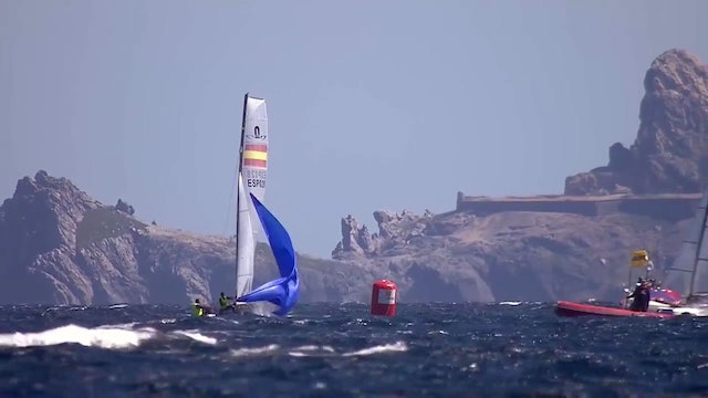World Sailing SWC - Hyeres 2017 - Nacra 17 Highlights