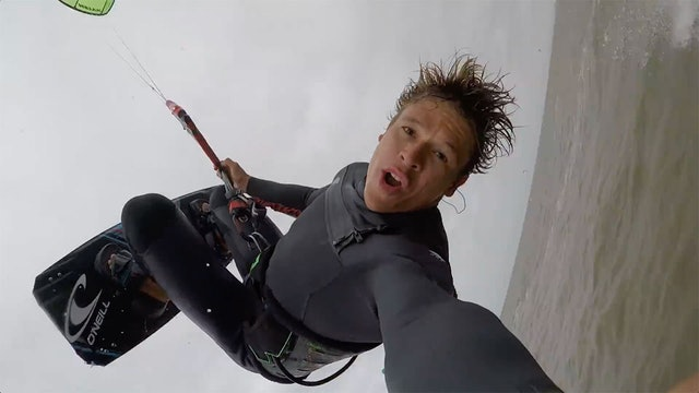 KEVLOG - Is Beau ready for a 130km downwinder?