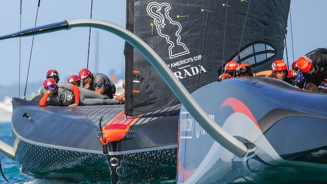 Prada America's Cup Christmas Cup - Low Riding