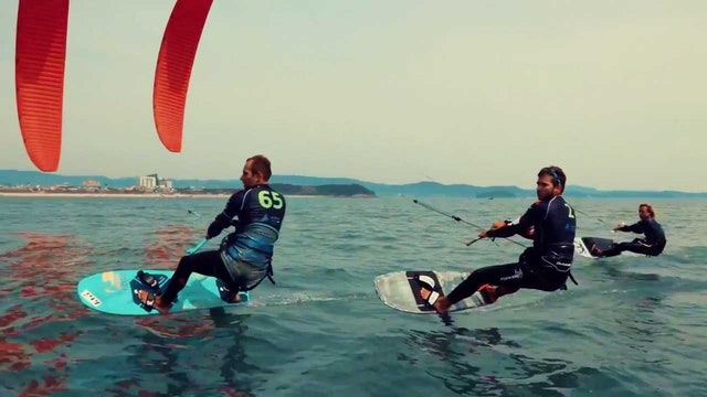 IKA KiteFoil Gold Cup & TT-R Open Korea - Race Day 4
