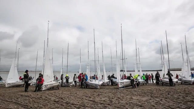 RYA Youth Nationals 2016 Timelapse