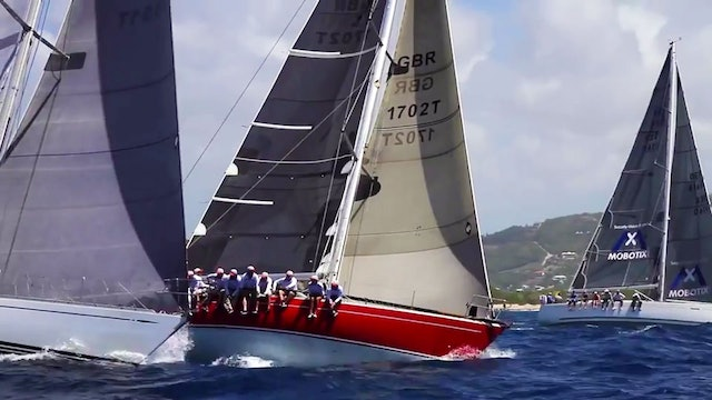 Antigua Sailing Week 2015 - Runners & Riders