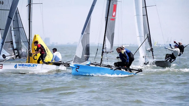 International 14 World Champs - Team Race - Day Two