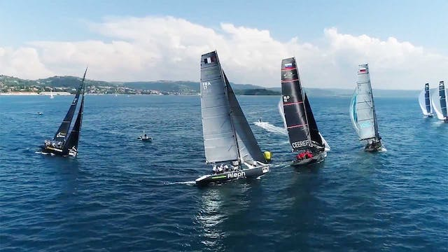 RC44 Portoroz Cup 2018 - Day One