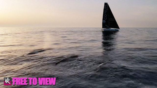 F2V - The Ocean Race Europe 2021 - Leg 3 Day Three