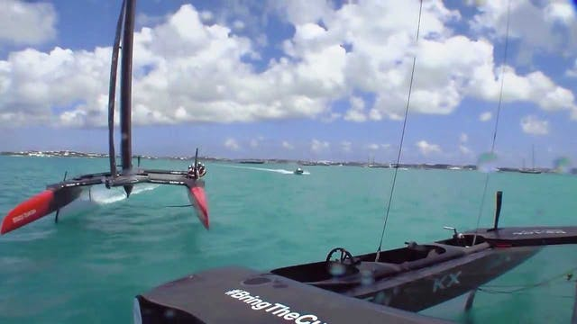 35th America's Cup - 28th May - Quali...