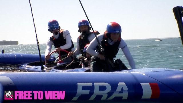 F2V - SailGP - Spain - Practice Day