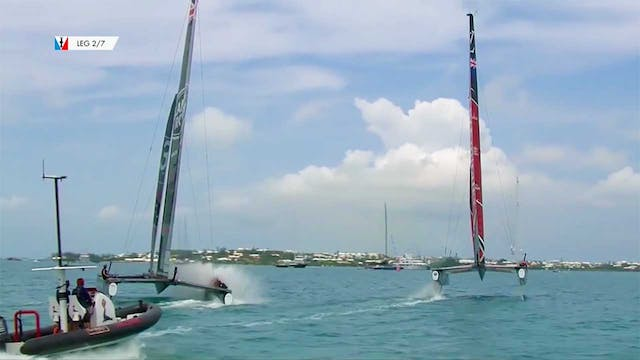 35th America's Cup - 1st June - Quali...