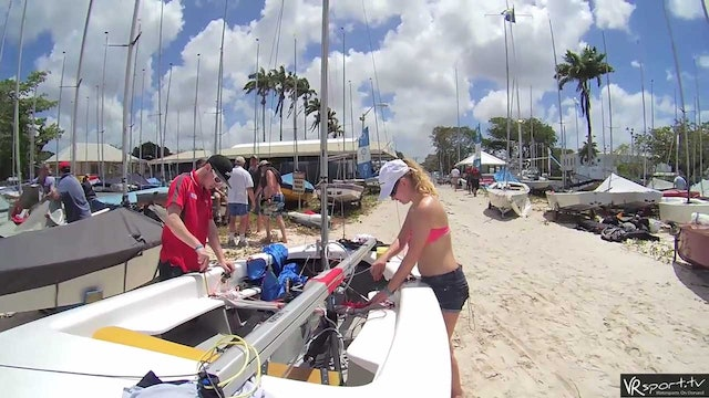 GP14 World Champs 2016 - Boat Prep Time