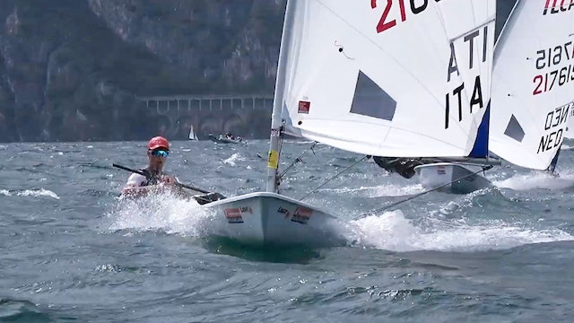 2021 ILCA 6 Laser Radial Youth Worlds - Final Series Day 2