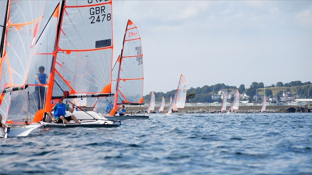 2019 UK 29er Class National and Open Championship - Day Two