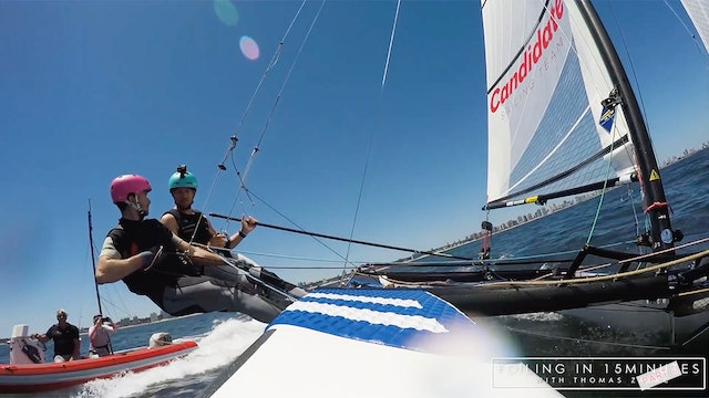 Candidate Sailing - Learning To Foil in 15 Minutes - Part Two