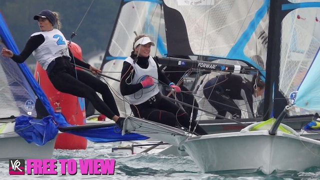 F2V - 49er - 49erFX - Nacra 17 Europeans 2020 - Day Four