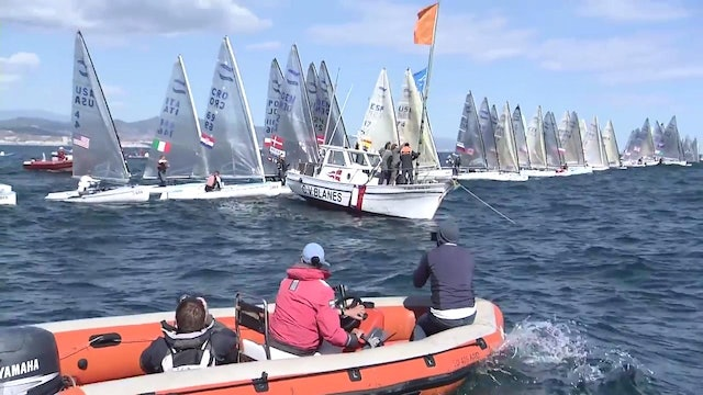 Finn European 2016 Championship - Day Four