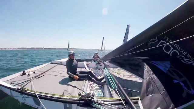 Tour de Voile - Team Maverick SSR's Spectacular Gear Failure