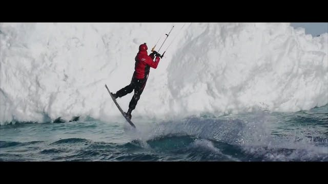 The Arctic Kitesurfing Challenge