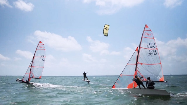 Cabrinha - Kite and Wing Surfing for Sailors - Transfer Skills