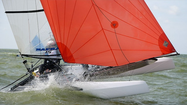 TME - Nacra 15 ESS 2019 - Dutch Youth Regatta - Day Two