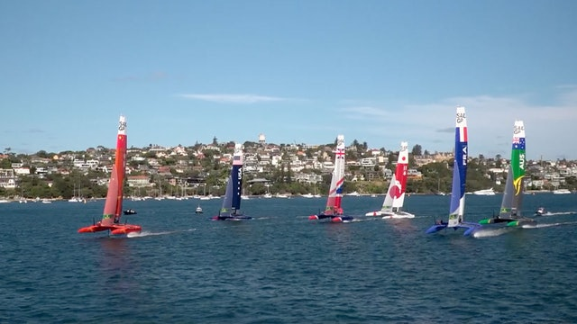 SailGP Sydney - Day One