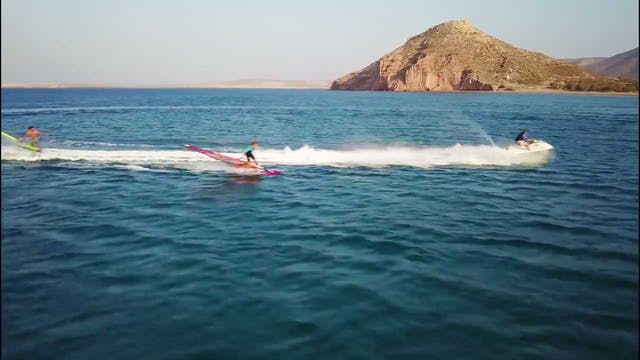 Tow-In Windsurf Ballet