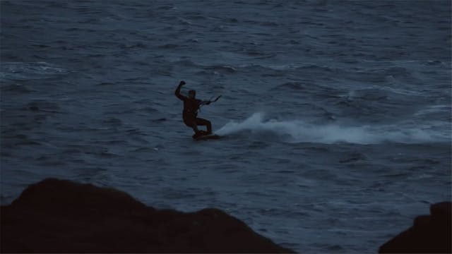 Kitesurfing at the North Cape!