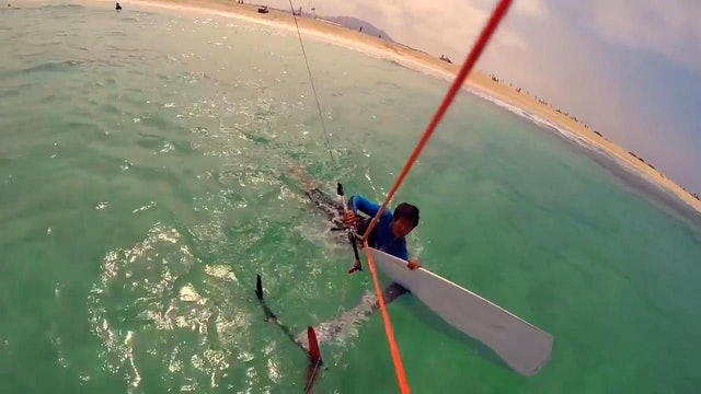 The Foiling Basics - Body Dragging