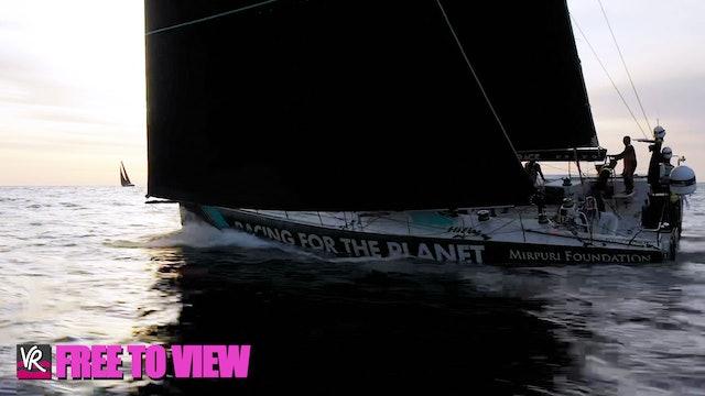 F2V - The Ocean Race Europe 2021 - Leg 2 Finish
