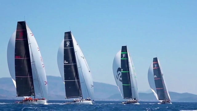 Maxi 72 - Corfu Challenge 2017 - Day Three