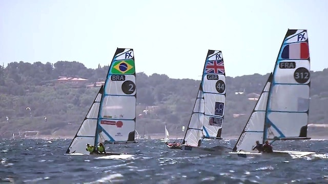 World Sailing SWC - Hyeres 2017 - 49er & 49erFX Highlights