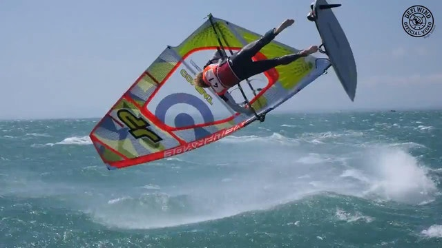 Defi Wind 2015 - 1200 Windsurfers vs The Storm