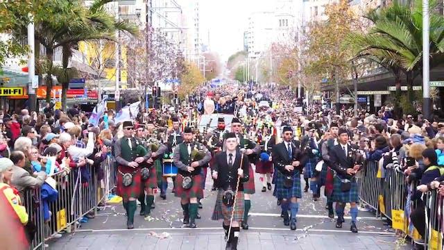 ETNZ - America's Cup Parade Auckland