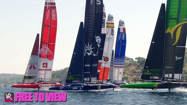 F2V - SailGP - France - Day Two