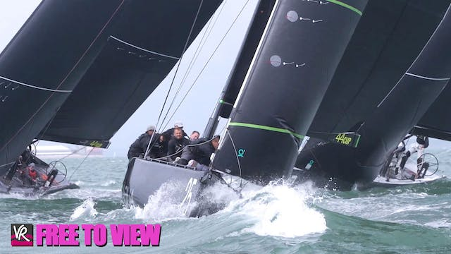 F2V - 44Cup Cowes 2021 - Day 2