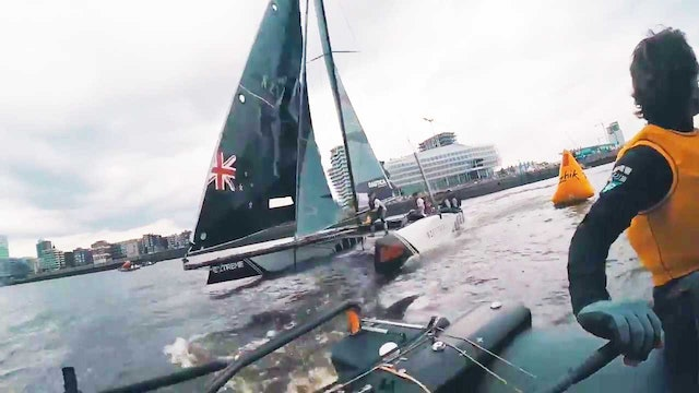 Extreme Sailing Series - Act 5, Hamburg Day One