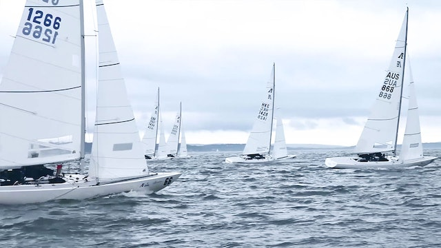 Etchells World Championship 2016 - Day One