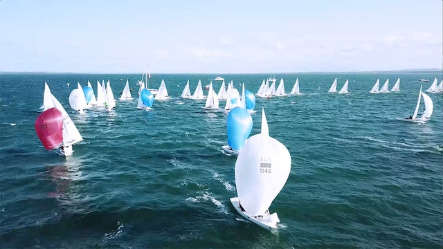 Etchells World Championship 2018 - Day One