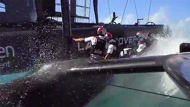 35th America's Cup - 27th May - Qualifying Round Robin 1