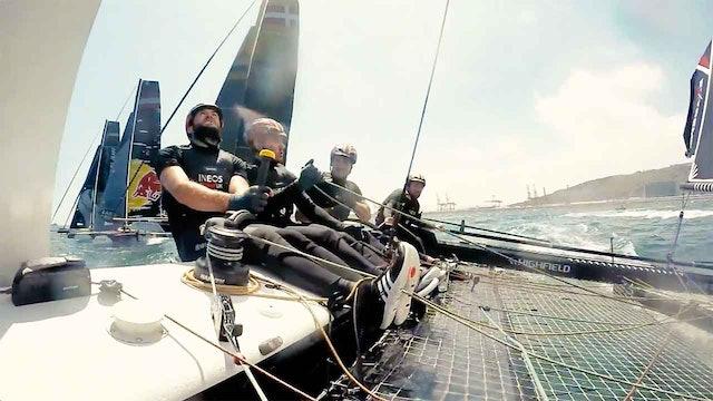 INEOS Rebels UK - Day 1 - Act 3, Extreme Sailing Series Barcelona