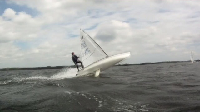 High Wind Contender Skiff Sailing 2012-3