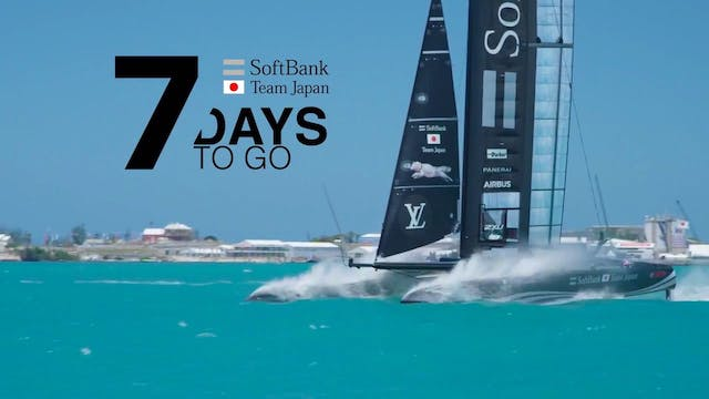 SoftBank Team Japan - 7 Days to Go