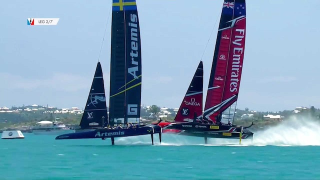 35th America's Cup - 30th May - Qualifying Round Robin 2