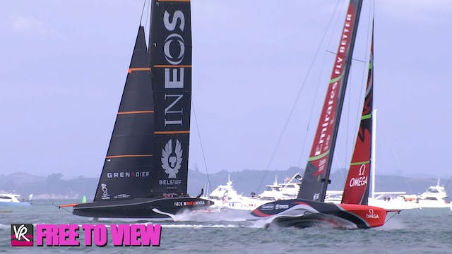 F2V - INEOS Team UK - America's Cup M...