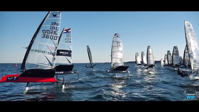 2016 Forward Sailing European Int Moth Champs - Part 2
