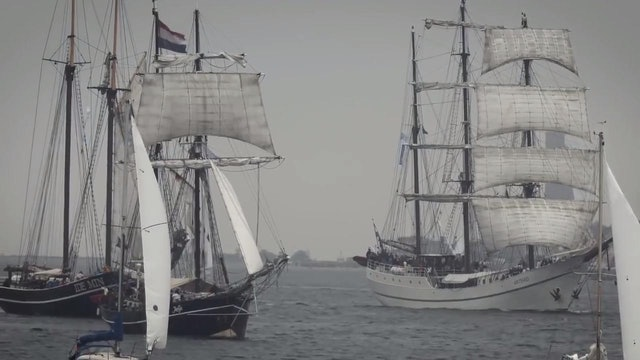 Kiel Week 2016 - 25th June - Highlights - Tall ships parade