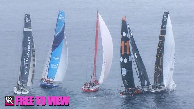F2V - The Ocean Race Europe 2021 - Leg 1 Finish