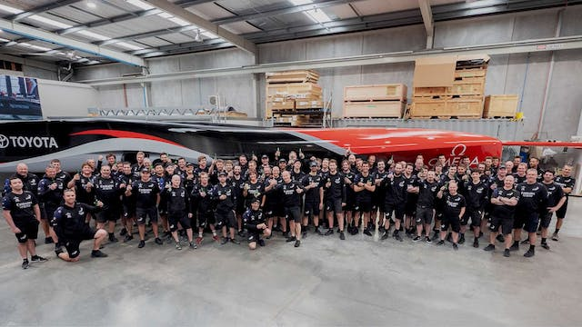 Emirates Team NZL - The Build of Boat II
