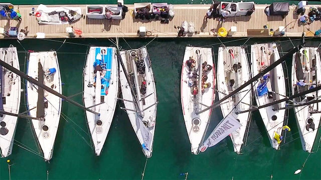 2018 Melges 32 World League - Forio d'Ischia - Day One