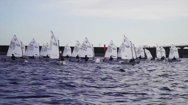 IOCA UK Optimist Winter Championships 2016 Day 1