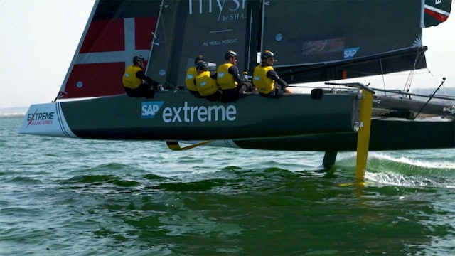 2018 Extreme Sailing Series - Act 1 - Muscat - Day One